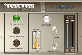 Backwards Machine Screenshot