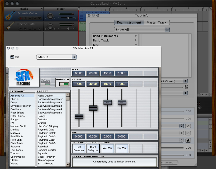 How to Use Audio Unit Effects in GarageBand